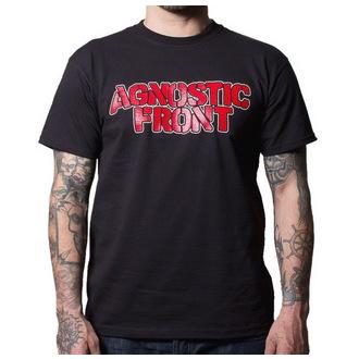 tričko pánské Agnostic Front - Never Walk Alone - BUCKANEER - Black