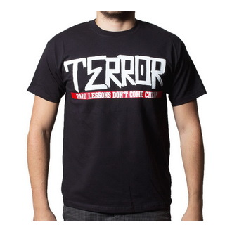 tričko pánské Terror - Hard Lessons - BUCKANEER - Black