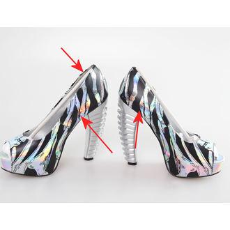 boty dámské (střevíce) TOO FAST - Ribcage - Multi - POŠKOZENÉ