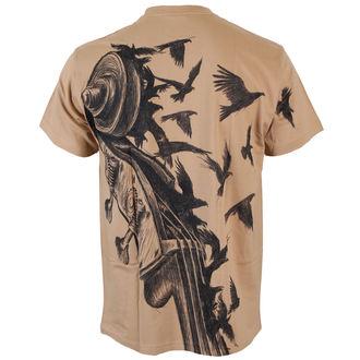 tričko pánské ALISTAR - Bass&Crows - Beige, ALISTAR