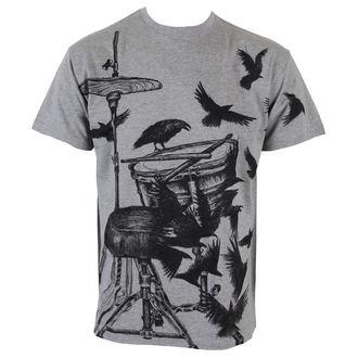 tričko pánské ALISTAR - Drums&Crows - Grey - ALI165