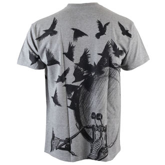 tričko pánské ALISTAR - Drums&Crows - Grey