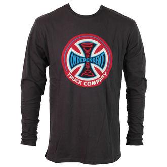 tričko pánské s dlouhým rukávem INDEPENDENT - Supension - ILSTSU - VINTAGE BLACK