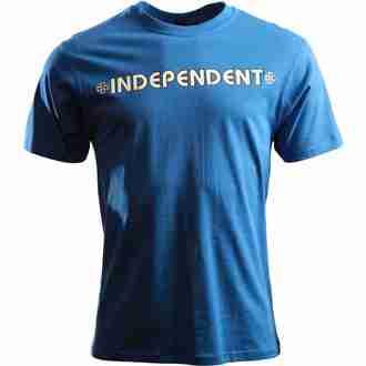 tričko pánské INDEPENDENT - Bar Cross - ITSBA - BLUE