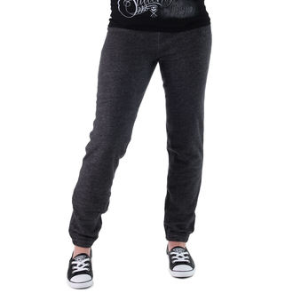 kalhoty dámské (tepláky) CONVERSE - Awk GF Core Plus Slim - GREY/BLK