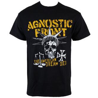 tričko pánské Agnostic Front - Liberty Skull - Black - RAGEWEAR