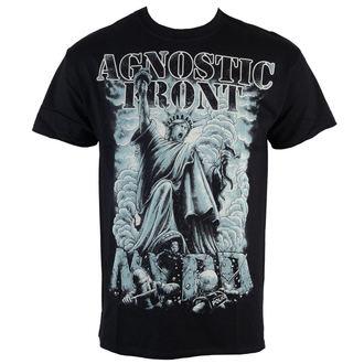 tričko pánské Agnostic Front - Frontsdale - Black - RAGEWEAR