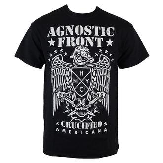 tričko pánské Agnostic Front - Americana - Black - RAGEWEAR - 001TSS80