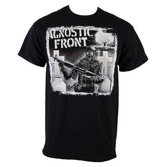 tričko pánské Agnostic Front - Gasmask - Black - RAGEWEAR, RAGEWEAR, Agnostic Front