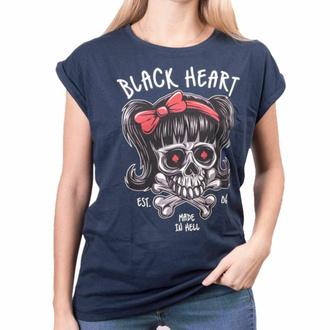 tričko dámské BLACK HEART - SANDY EXT - BLUE, BLACK HEART