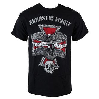 tričko pánské Agnostic Front - Les Crew - Black - RAGEWEAR, RAGEWEAR, Agnostic Front
