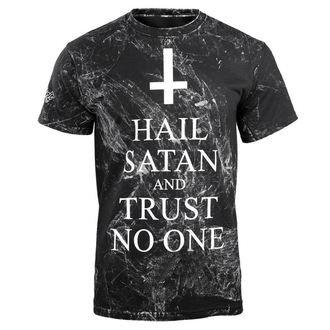 tričko pánské  AMENOMEN - HAIL SATAN AND TRUST NO ONE, AMENOMEN