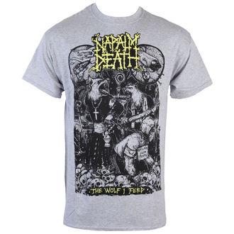 tričko pánské Napalm Death - Wolf - RAGEWEAR, RAGEWEAR, Napalm Death
