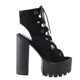 boty dámské BANNED - Platform Lace - Black, BANNED