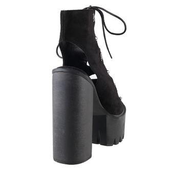 boty dámské BANNED - Platform Lace - Black