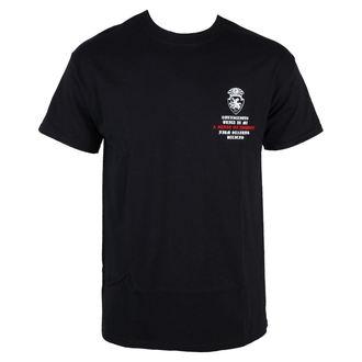 tričko pánské Terror - Conviction - Black - RAGEWEAR, RAGEWEAR, Terror