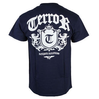 tričko pánské Terror - Lion Crest - Navy blue - RAGEWEAR, RAGEWEAR, Terror