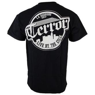 tričko pánské Terror - Skyline - Black - RAGEWEAR, RAGEWEAR, Terror