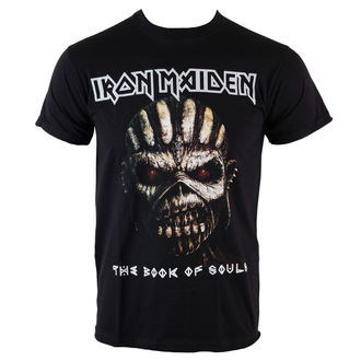 tričko pánské Iron Maiden - Book Of Souls - BLK - ROCK OFF, ROCK OFF, Iron Maiden