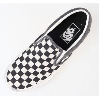 boty Vans - Classic Slip-On (Overwashed) - Black/Check