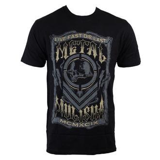 tričko pánské METAL MULISHA - Die Last - BLK