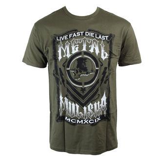 tričko pánské METAL MULISHA - Die Last - GREEN