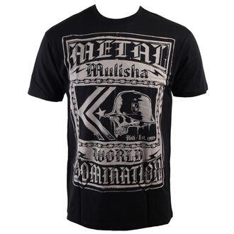 tričko pánské METAL MULISHA - Society - BLK