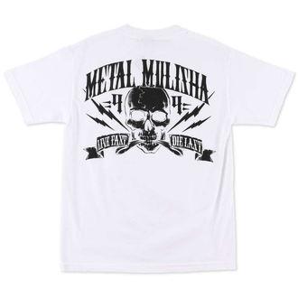 tričko pánské METAL MULISHA - Never Die - WHT