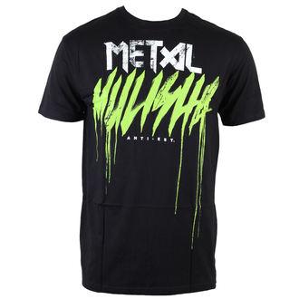tričko pánské METAL MULISHA - Brush Drip - BLK