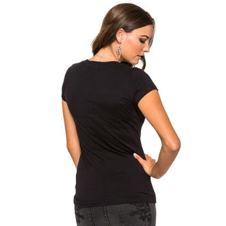 tričko dámské METAL MULISHA - Lotus - BLK