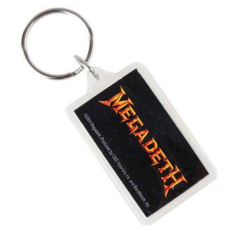 klíčenka (přívěšek) Megadeth - Logo, C&D VISIONARY, Megadeth