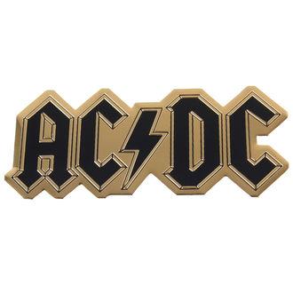 nálepka střední (kovová) AC/DC - Logo - S-7615-M