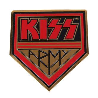 nálepka velká (kovová) Kiss - Army
