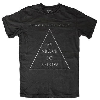 tričko pánské BLACK CRAFT - As Above So Below - Black - MT109AW