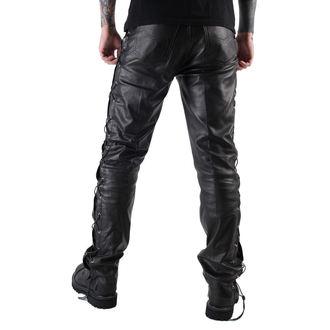 kalhoty pánské kožené OSX - Out-Law - Black, OSX