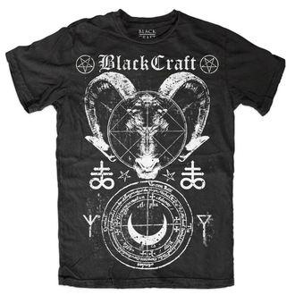 tričko pánské BLACK CRAFT - Leviathan - Black - MT118LV