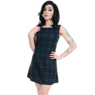 šaty dámské 3RDAND56th - 60s Retro - Navy/Green
