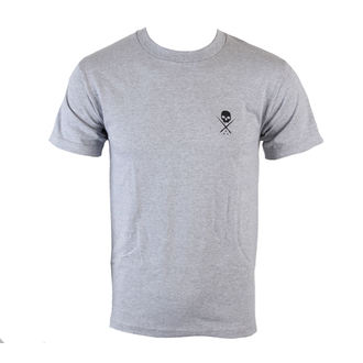 tričko pánské SULLEN - HGB STANDARD ISSUE - HEATHER GREY/BLACK - SCM0019_HGBK