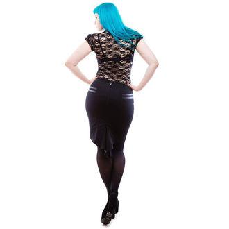 sukně dámská NECESSARY EVIL - Gothic Corra - Black, NECESSARY EVIL