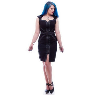 šaty dámské NECESSARY EVIL - Gothic Luna - Black, NECESSARY EVIL