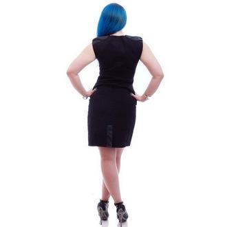 šaty dámské NECESSARY EVIL - Gothic Luna - Black