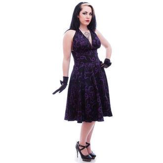 šaty dámské NECESSARY EVIL - Feronia 50s - Black, NECESSARY EVIL
