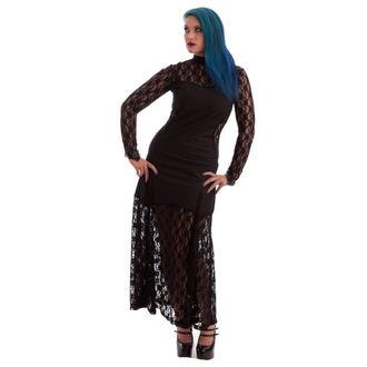 šaty dámské NECESSARY EVIL -Nefetari Twill - Black
