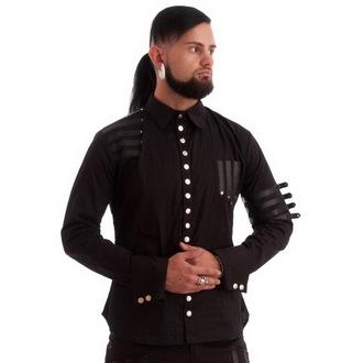 košile pánská NECESSARY EVIL - Mephisto - Black, NECESSARY EVIL