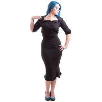 košile dámská NECESSARY EVIL - Belisama Poplin - Black