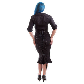 košile dámská NECESSARY EVIL - Belisama Poplin - Black, NECESSARY EVIL
