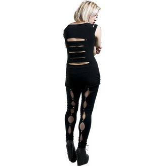 tričko dámské NECESSARY EVIL - Erinys Slashed - Black