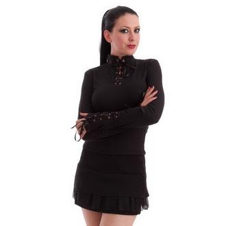 tričko dámské s dlouhým rukávem MILISHA - Black