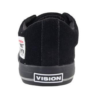 boty pánské VISION - Suede Lo - Black/Black - VMF5FWSL02