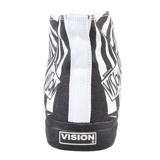 boty pánské VISION - Canvas HI - Black/White - VMH2FW201